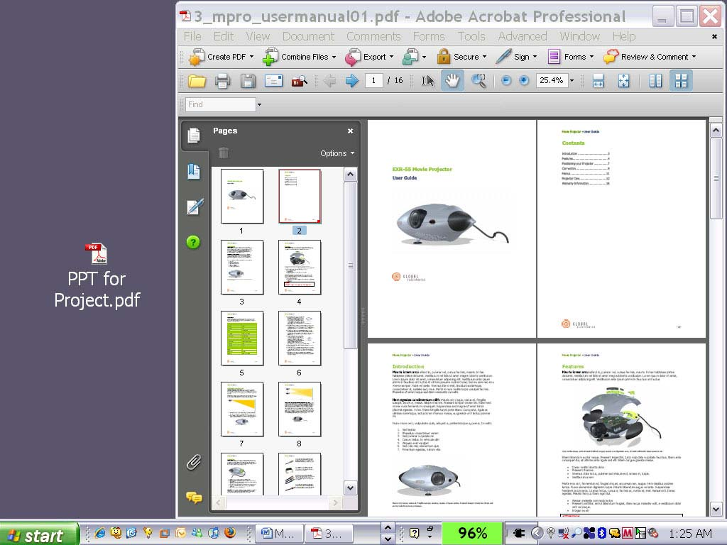 Modifying your PDFs Using Drag and Drop to/from Pages Panel
