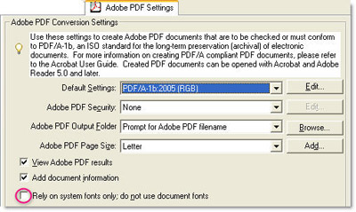 FONT ACROBAT CANNOT EXTRACT EMBEDDED