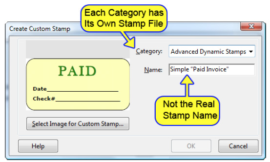 Building A Dynamic Stamp