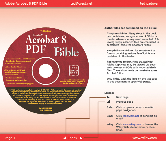 Creating buttons for PDF navigation with Acrobat 8 and 9