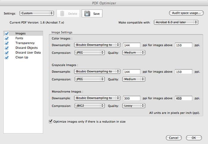 understanding acrobat 9 u0026 39 s optimizer