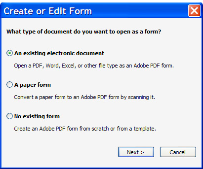 designing online forms for auto field detection using acrobat 9