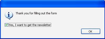 The alert box: Part 1 of 5 on popup windows