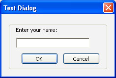 Custom dialog boxes: Part 5 of 5 on popup windows