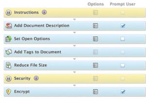 Prepare PDF documents for distribution