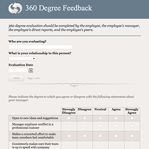 Template 360 for 360 degree review template
