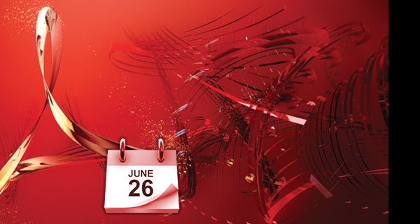 Acrobat 9 product support ends June 26, 2013.