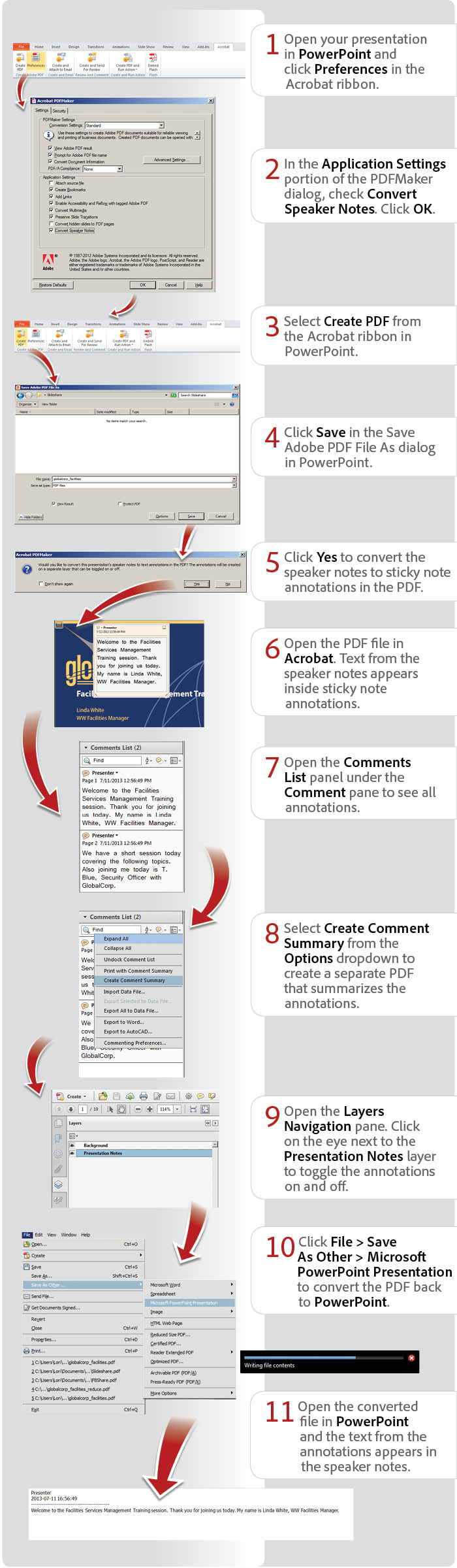 How to convert PowerPoint to PDF, convert to PDF, PPT to PDF - Adobe