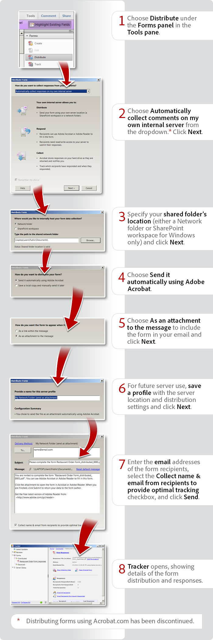 How to distribute forms with Acrobat X