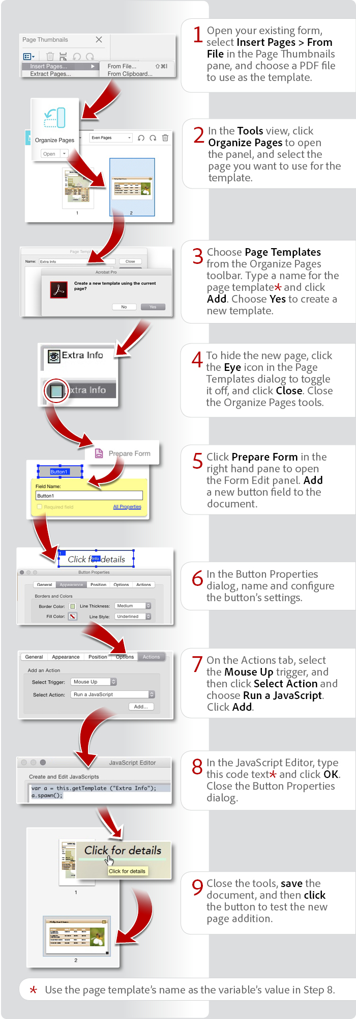 How to create fillable PDF, form creator, PDF form - Adobe Acrobat