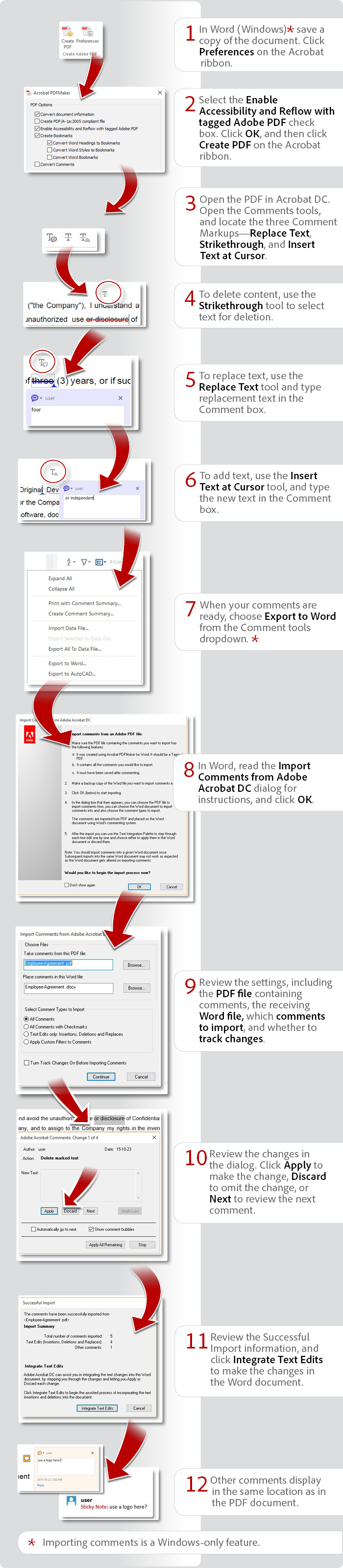 How to convert pdf to word pdf to word converter how to convert export pdf comments to word with acrobat dc stopboris Gallery